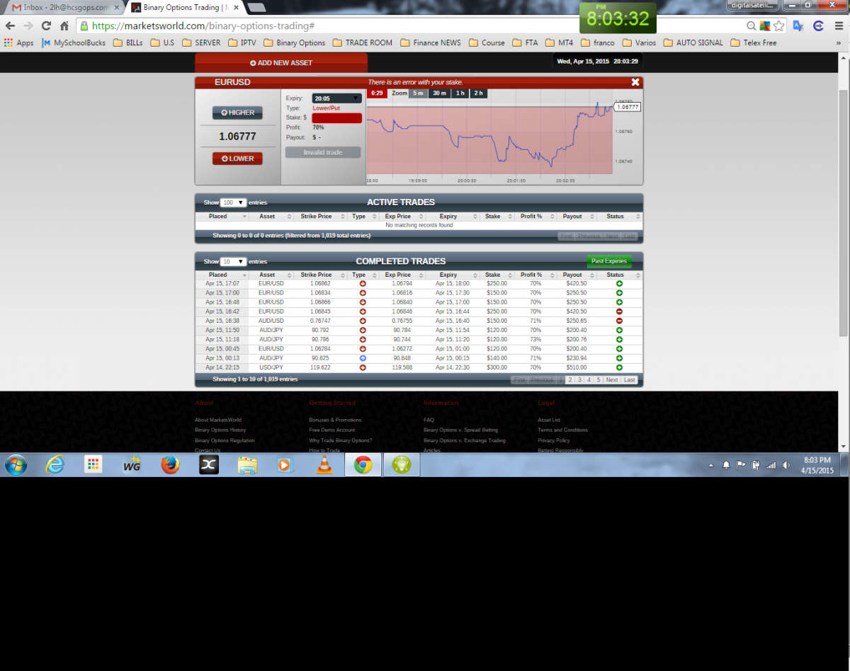 Binary option trading singapore